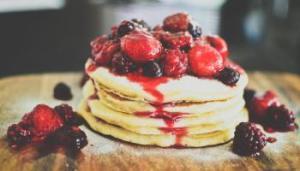 mixed-berry-and-hazelnut-pancakes