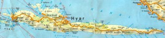 mapa hvara