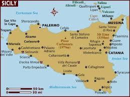 sicilija mapa